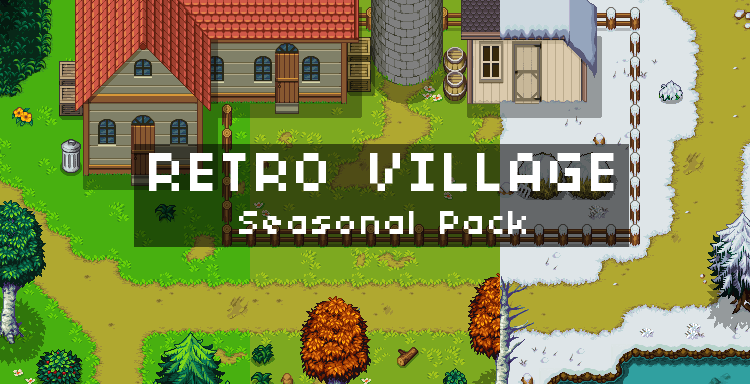Retro Vilage Seasonal Pack