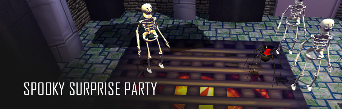 Spooky Surprise Party