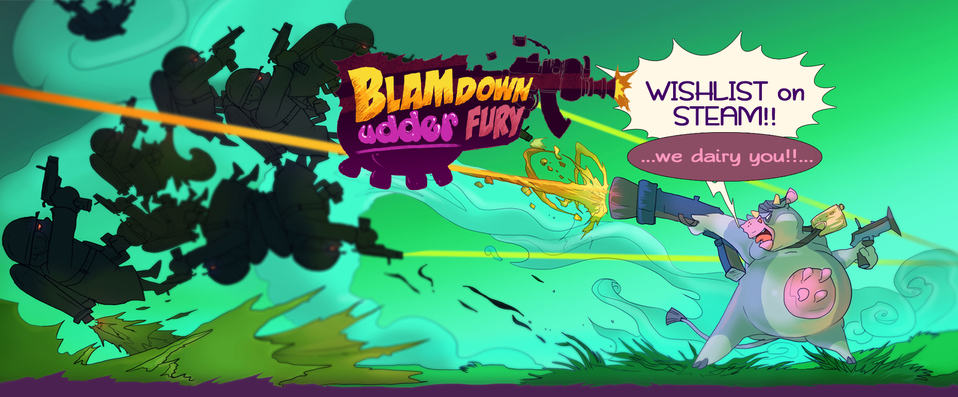 Blamdown Udder Fury - Prototype