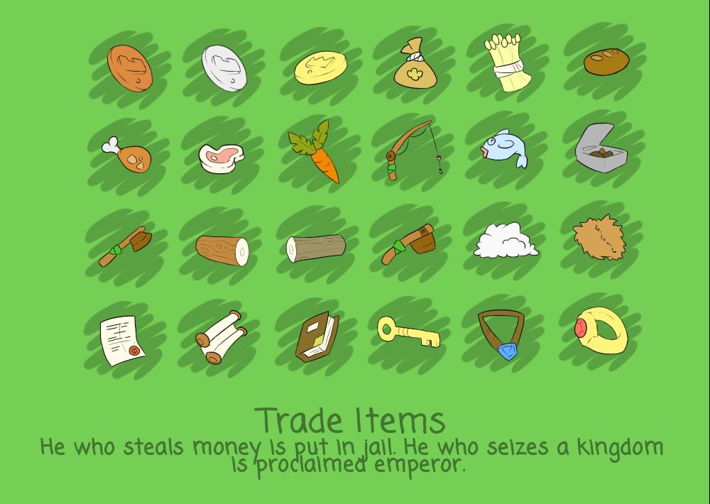 Joszs' Medieval Item Pack