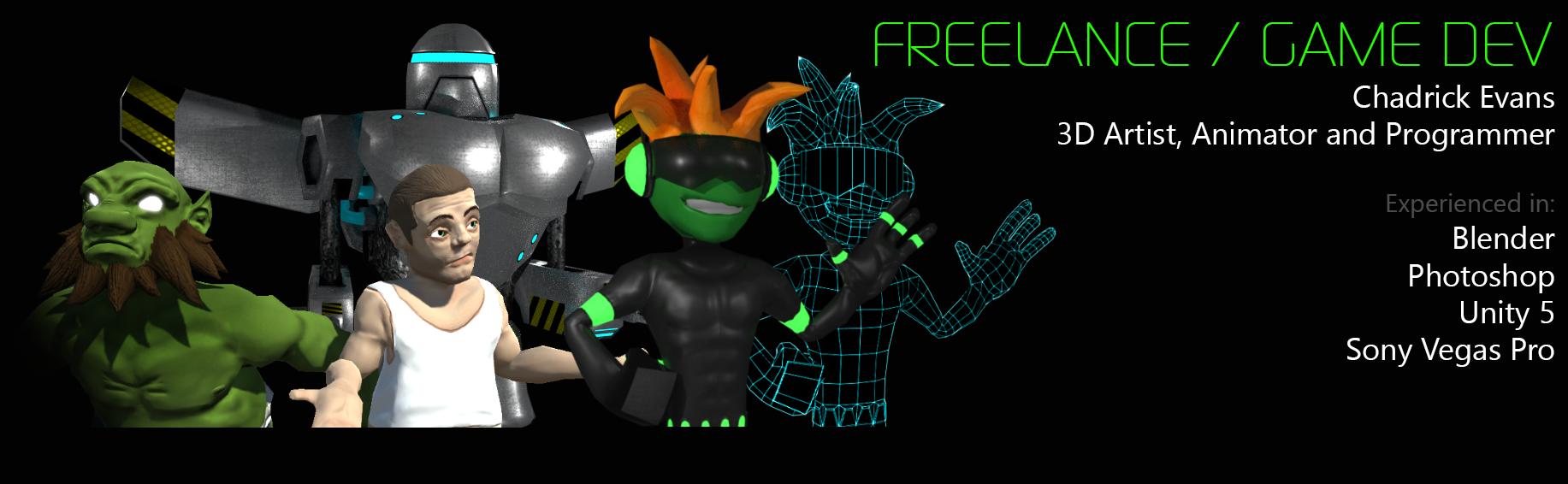 3D Alien Mascot Model