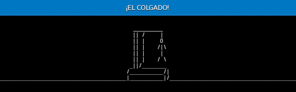 ¡EL COLGADO! 1.3