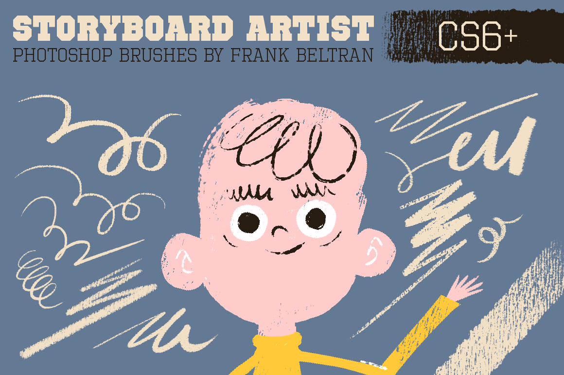 Photoshop Storyboard Artist Brushes