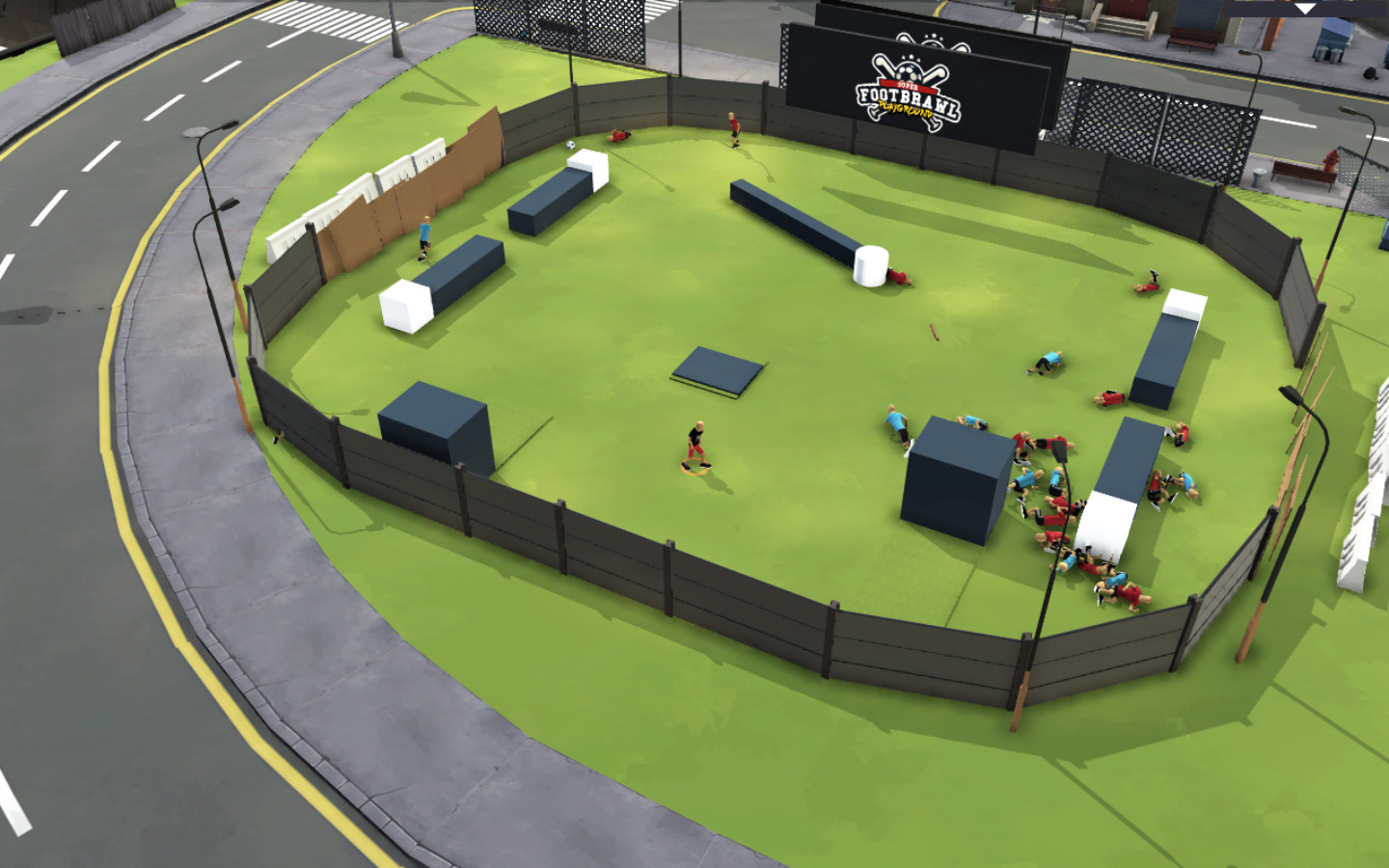 Footbrawl Playground v 0.04 Beta