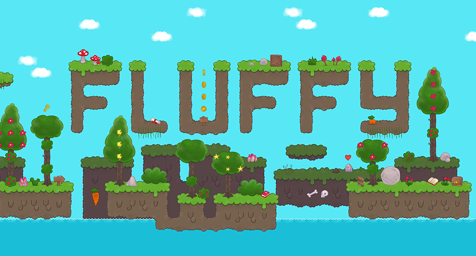 Fluffy Forest Tileset