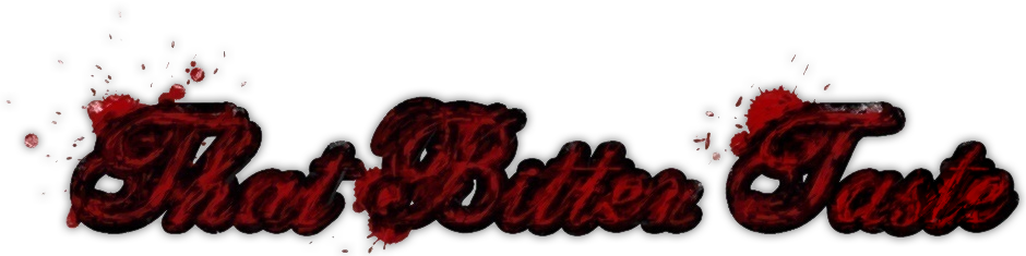 That Bitter Taste