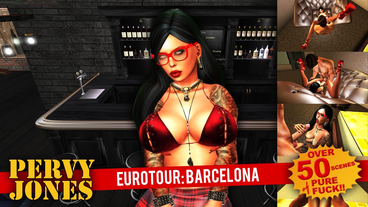 Pervy Jones' Eurotour: Barcelona