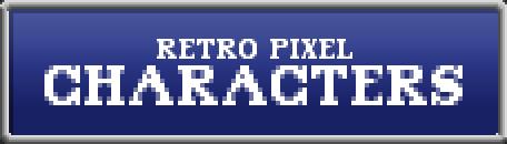 Retro Pixel Characters
