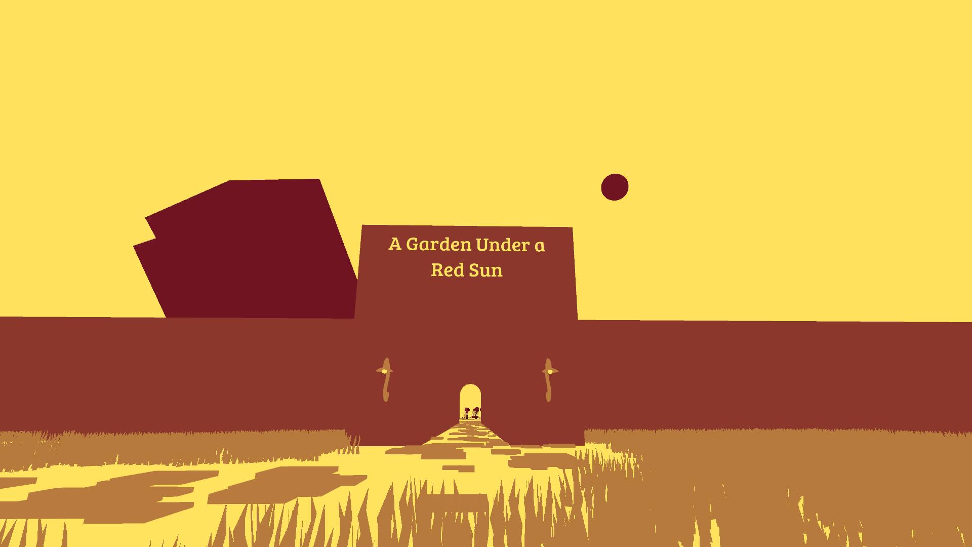 A Garden Under a Red Sun