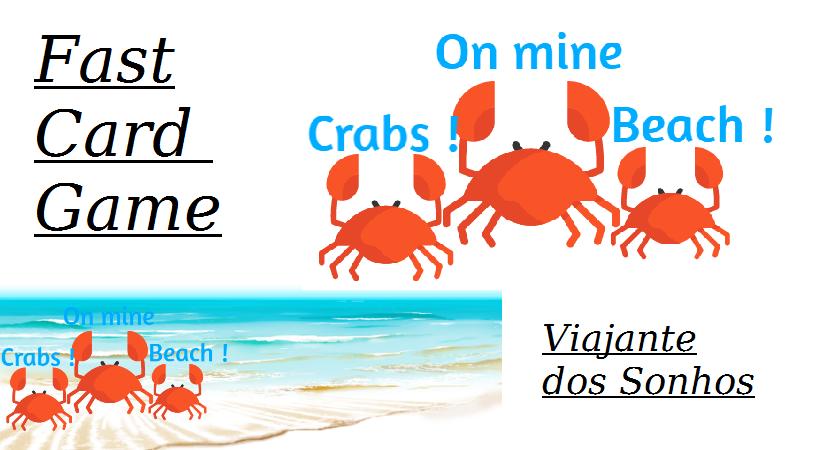 Crabs ! On mine beach !