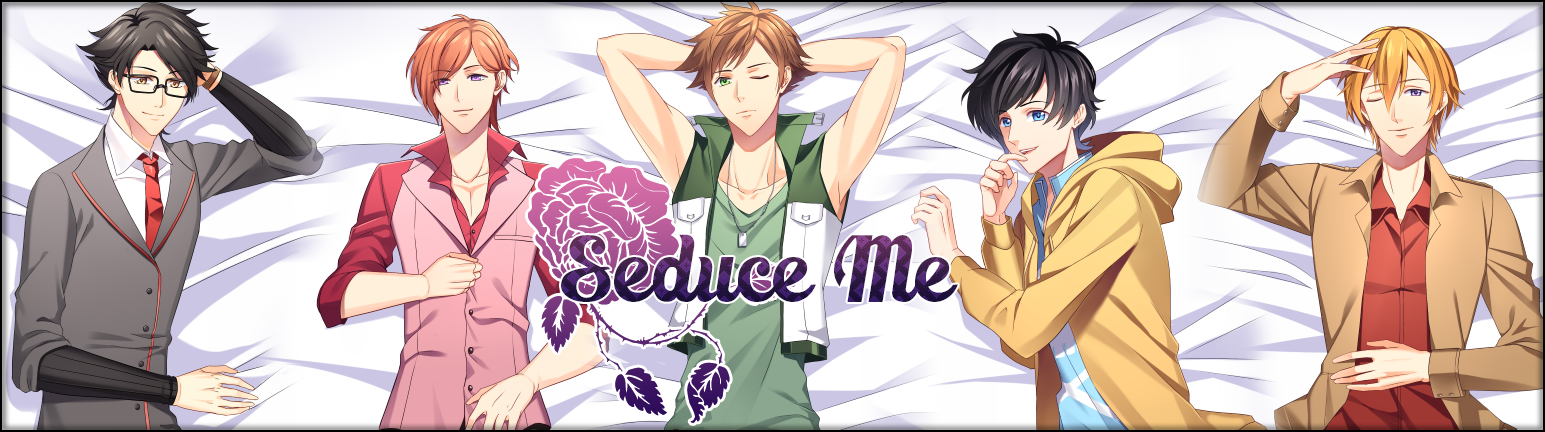 Seduce Me The Otome Damien Dakimakura Set