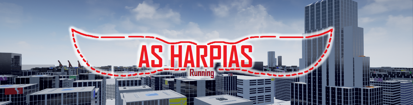 As Harpias Running