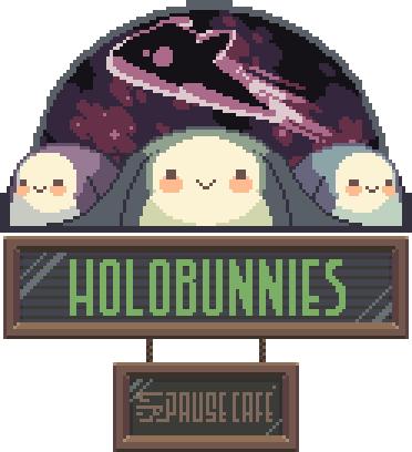 Holobunnies: Pause Cafe