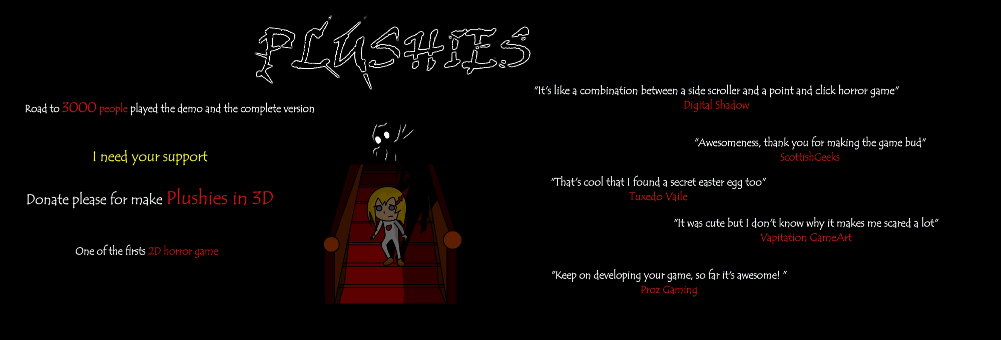 Plushies: The Horror Game