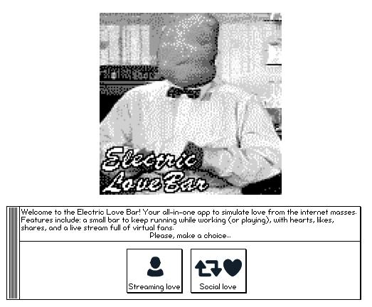 Electric Love Bar (social love simulator 2k)