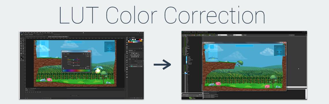 LUT Color Correction for GameMaker: Studio