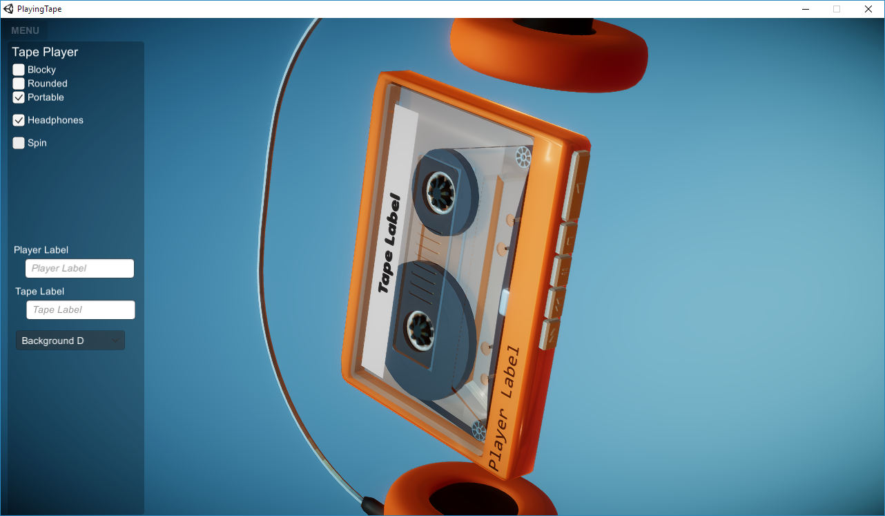 Playing Tape